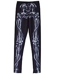 abordables -Femme Sport & Loisir Basique Legging - Géométrique Taille médiale