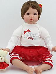 Недорогие -Куклы реборн Принцесса Девочки Дети Новорожденный как живой Милый стиль Все Подарок