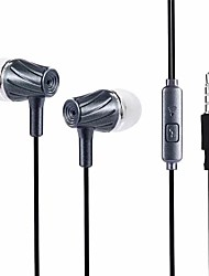 cheap -Earphones (Earbuds, In-Ear) Wired Headphones Piezoelectricity Plastic / Plastic Shell Mobile Phone Earphone Headset
