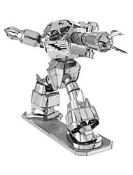 preiswerte -3D - Puzzle Metallpuzzle Kreativ Fokus Spielzeug Handgefertigt Metal Militär Ständer Spielzeug Mädchen Jungen Geschenk