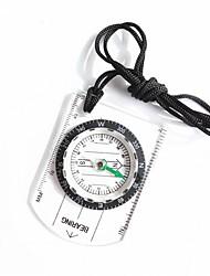 baratos -Compassos Leve e conveniente Medidores Tamanho Pequeno Bússula Alpinismo Exercicio Exterior Trekking Plástico cm 1 pçs