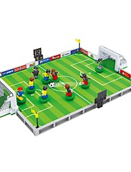 cheap -Building Blocks 251 pcs Sports Stadium Soccer Focus Toy New Design 3D Cartoon Sports & Outdoors Unisex Boys' Girls' Toy Gift