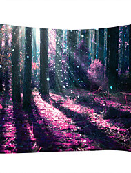 cheap -Garden Theme Horror Wall Decor 100% Polyester Contemporary Modern Wall Art, Wall Tapestries Decoration