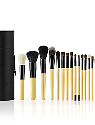 cheap -18pcs Professional Makeup Brushes Makeup Brush Set Horse / Others / Synthetic Hair Professional / Comfy / Full Coverage Wooden N / A
