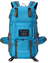 cheap -40 L Hiking Backpack - Waterproof, Wearable, Multifunctional Outdoor Camping / Hiking, Hunting, Climbing Mesh, Polyster Dark Pink, Khaki, Camouflage Gray