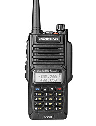 baratos -BAOFENG UV-9R Portátil Prova-de-Água / Dual Band Walkie Talkie Dois canais de rádio