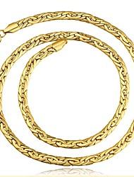 Недорогие -MPL 1 Медь на открытом воздухе за Золотой Розовое золото / Муж. / Ожерелья-бархатки