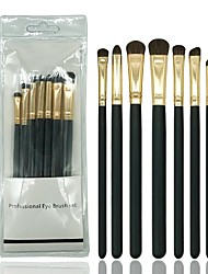 cheap -7 pcs Makeup Brushes Professional Makeup Brush Set / Eyeshadow Brush Synthetic Hair / Horse Soft / Full Coverage Wooden