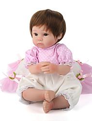economico -NPK DOLL Bambole Reborn Bambine 18pollice Silicone / Vinile - realistico, Ciglia applicate a mano, Chiodi con punta e sigillati Unisex