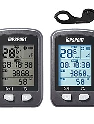 cheap -iGPSPORT® IGS20E Bike Computer / Bicycle Computer Cycling Speedometer GPS Stopwatch Waterproof Wireless Backlight LCD Display Odometer