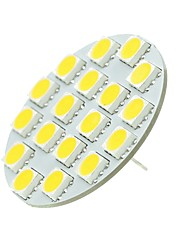 Недорогие -SENCART 1шт 5W 540lm G4 Двухштырьковые LED лампы T 18 Светодиодные бусины SMD 5730 Декоративная Тёплый белый / Холодный белый 12-24V