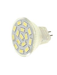 billiga -SENCART 1st / 6pcs 6W 450lm G4 / MR11 LED-spotlights MR11 15 LED-pärlor SMD 5630 Dekorativ Varmvit / Vit / Blå 12-24V