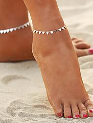 baratos -Geométrica Tornezeleira - Boêmio, Fashion, Boho Dourado / Prata Para Para Noite Bikini Mulheres