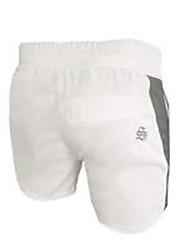 abordables -Homme Shorts de Course Respirabilité Cuissard  / Short Exercice & Fitness Polyester Blanc Noir Rouge M L XL XXL