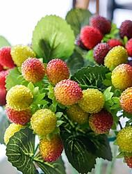 Недорогие -Искусственные Цветы 1 Филиал Деревня / Свадебные цветы Фрукты Букеты на стол