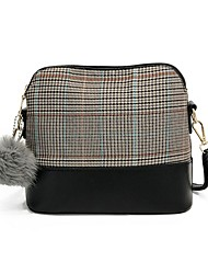 cheap -Women's Bags Nylon Shoulder Bag Feathers / Fur Beige / Gray / Brown