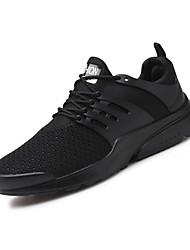 abordables -Homme Chaussures Filet / Tulle Automne Semelles Légères Basket Rouge / Blanc / Bleu / Écran couleur