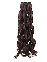20 إنش الألياف الاصطناعية إطالة الشعر مموج نسج الشعر 1 مموج