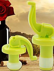 Недорогие -Винные пробки Пластик, Вино Аксессуары Высокое качество творческийforBarware 8*3*3 0.02