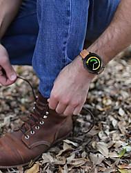 preiswerte -Uhrenarmband für Gear Sport Gear S2 Classic Samsung Galaxy Klassische Schnalle Leder Handschlaufe