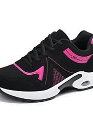 economico -Per donna Scarpe Tulle Primavera / Estate Comoda scarpe da ginnastica Corsa Plateau Bianco / Fucsia / Rosa