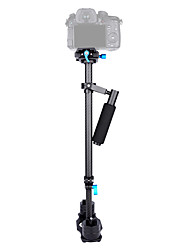 baratos -yelangu® mão de fibra de carbono 0.6m profissional de vídeo realizada china câmera estabilizador