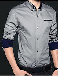 Majica Muškarci - Posao Ulični šik Color block
