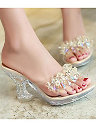 cheap -Women's Shoes Other Animal Skin Spring Summer Comfort Sandals Wedge Heel for Casual Gold Black Silver