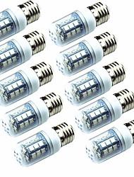 cheap -10pcs 3.5W 250lm E14 E26 / E27 LED Corn Lights T 26 LED Beads SMD 5050 Green 220-240V