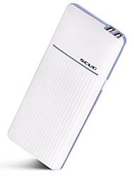 baratos -10000mAh banco do poder de bateria externa 5 Carregador de bateria QC 2.0 LED