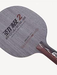 Недорогие -DHS® POWER.G2 CS Ping Pang/Настольный теннис Ракетки Пригодно для носки Против скольжения деревянный 1