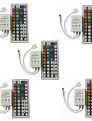 cheap -5pcs Strip Light Accessory / 44keys IR Remote Control Plastic for RGB LED Strip Light
