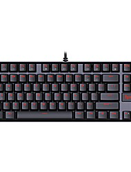 cheap -REDRAGON Wired Cable Blue Switches 87 Ergonomic Keyboard Gaming Keyboard