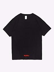 cheap -men's business cotton t-shirt - animal letter