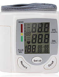 cheap -Wrist Blood Pressure Monitor Health Monitor Time Easy to Use 1pack Digital Display On/Off