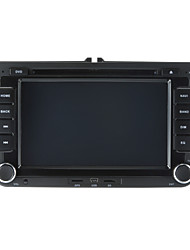 abordables -520WGNR04 7 pulgada 2 Din Windows CE 6.0 / Windows CE En tablero reproductor de DVD Bluetooth Integrado / GPS / iPod para Volkswagen Apoyo