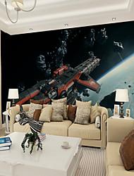abordables -Décoration artistique Motif 3D Décoration d'intérieur Classique Moderne Revêtement, Toile Matériel adhésif requis Mural, Couvre Mur