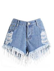 baratos -Calças de calças micro-elásticas normais da meia altura das mulheres, vintage, algodão sólido, fibra de bambu, spandex, primavera