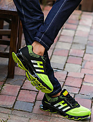 Недорогие -Муж. обувь Тюль Весна / Осень Удобная обувь Спортивная обувь Беговая обувь Черный / Зеленый