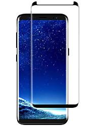 Недорогие -Защитная плёнка для экрана Samsung Galaxy для S9 Закаленное стекло 1 ед. Защитная пленка на всё устройство 3D закругленные углы