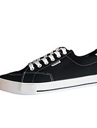 Недорогие -Муж. Полотно Весна Удобная обувь Кеды Черный