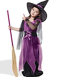 abordables -Bruja Disfrace de Cosplay Niños Halloween Festival / Celebración Disfraces de Halloween Moda