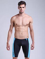 tanie Odzież kąpielowa męska-Męskie Dół od bikini - Jendolity kolor, Sukienka prosta Chłopiec Noga