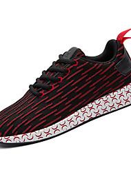 economico -Per uomo Scarpe Maglia traspirante Primavera Autunno Comoda scarpe da ginnastica Footing per Sportivo Nero Rosso Blu Rosa
