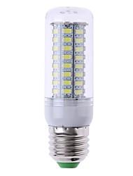 abordables -SENCART 1pc 7W 1200lm E14 G9 GU10 E26 / E27 B22 Ampoules Maïs LED T 72 Perles LED SMD 5730 Décorative Blanc Chaud Blanc Froid 220-240V