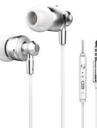 abordables -Câblé Ecouteurs Piézoélectricité Carcasse de plastique Téléphone portable Écouteur Casque