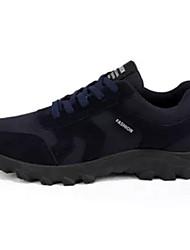 Homens sapatos Malha Respirável Primavera Outono Solados com Luzes Tênis Aventura para Atlético Preto Azul