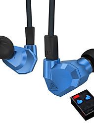 cheap -KZ KZ ZS5 Ear Hook Earphones (Earbuds, In-Ear) Wired Headphones Dynamic Copper Mobile Phone Earphone with Microphone Headset