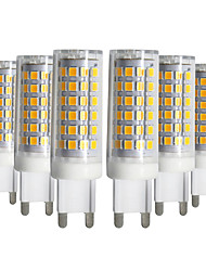 abordables -YWXLIGHT® 6pcs 9W 750-850 lm G9 Luces LED de Doble Pin T 76 leds SMD 2835 Regulable Blanco Cálido Blanco Fresco Blanco Natural AC 220-240V