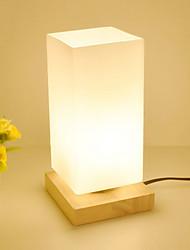Недорогие -Модерн Декоративная Настольная лампа Назначение Дерево/бамбук 220-240Вольт